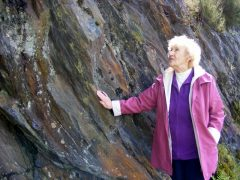 Marie Campbell, born within earshot of the quarry, remembers its noisy industrial past